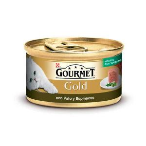 GOURMET GOLD Duck and Spinach Mousse 85g - Purina