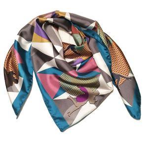 Rosellarama - Escape 100% silk twill scarf