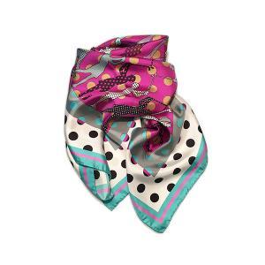 Rosellarama - Golfers 100% silk twill scarf