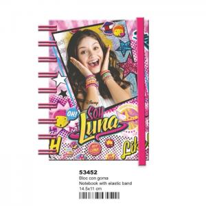 Bloc notes c / goma ln surprise - soy luna - montixelvo