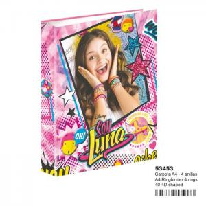 Ring binder a4 40-4d ln surprise - soy luna - montixelvo