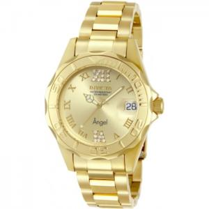 INVICTA Angel Lady 38mm Stainless Steel Gold Gold dial PC32A Quartz
