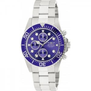 INVICTA Pro Diver Men 43mm Stainless Steel Steel Blue dial VD55B Quartz