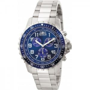 INVICTA Specialty Men 45mm Stainless Steel Steel Blue dial VD53 Quartz