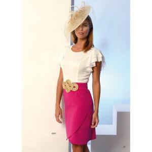 Short dress nº5 - creaciones carfi