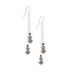 Earrings with swarovski crystals - dige designs