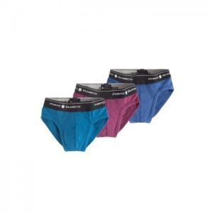 Basix 3 pack slip - punto blanco