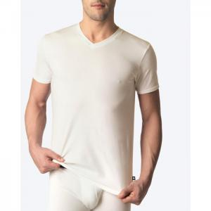 Basix short-sleeve t-shirt - punto blanco