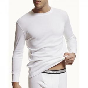 T-shirt long-sleeves interlude - punto blanco