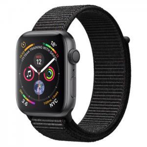 Apple watch series 4 gps 44mm speace grey aluminium case with black sport loop - apple