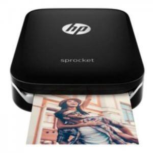 Hp z3z92a sprocket bluetooth photo printer black - hp