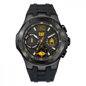 Cat black quartz men's watch - a116921131 - cat