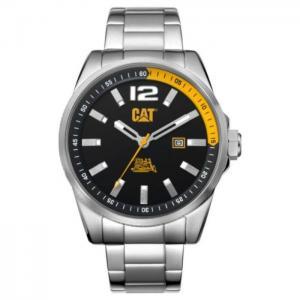 Cat silver quartz men's watch - wt14111137 - cat