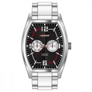 Cruiser c8576-gsbw silver quartz men's watch - cruiser