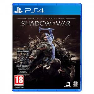 Ps4 middle earth shadow of war game - sony