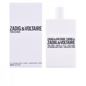THIS IS HER! loción hidratante corporal 200 ml - Zadig & Voltaire