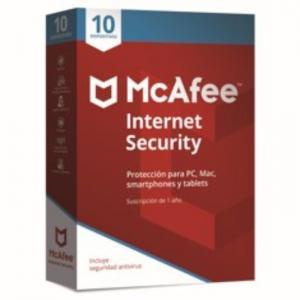 Antivirus Mcafee Internet Security 2018 10 - MCAFEE