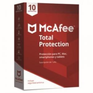Antivirus Mcafee Total Protection 2018 10 - MCAFEE