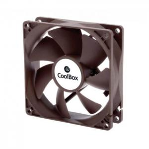 Ventilador auxiliar coolbox 8cm 1600rpm color - coolbox
