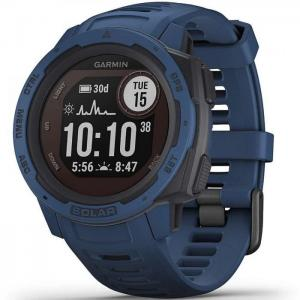 Reloj smartwatch garmin instinct solar azul - garmin
