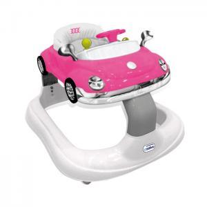 Andador bugatti rosa - asalvo