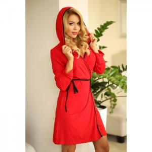 Alegranza dressing-gown red - kalimo