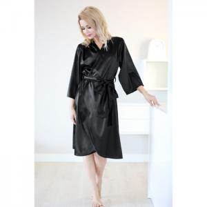 Bohol dressing-gown black - kalimo