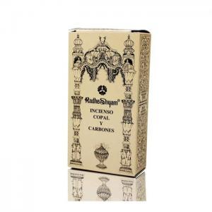 Copal incense and coals - radhe shyam