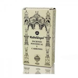 Pontifical incense and coals - radhe shyam