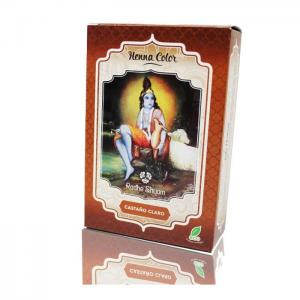 Henna radhe light brown powder - radhe shyam