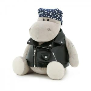 Po the Hippo: Biker - Orange Toys