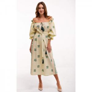 Barvinok yellow dress - 2kolyory