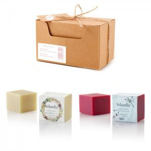Pack C-X11: Shower and Exfoliating Soap - Facial and body. - Velandia