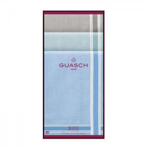 Flat Hemmed handkerchief with satins - Guasch