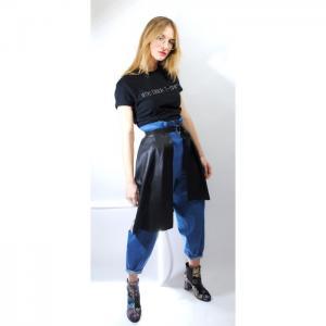 Eco-Leather Peplum Belt-LC-2033 - Logic Clothes
