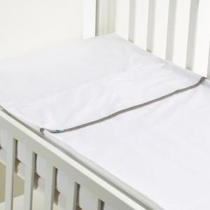Safety baby bed - gray bow - 50x80 cm  - b-mum