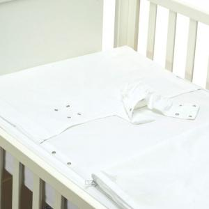 Safety baby bed - purity (white) - 60x120 cm  - b-mum