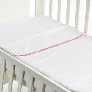 Safety baby bed - smooth rose - 50x80 cm  - b-mum