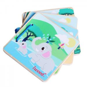 Picture Book WOOD FOR BABY: WILDLIFE - JUGUETES Y PELUCHES NEO