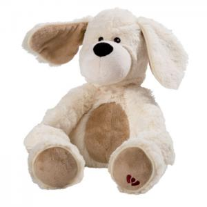 Thermo teddy: white puppy (filling natural microwave and fridge) - juguetes y peluches neo