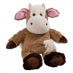 Thermo teddy: cow (filling natural microwave and fridge) - juguetes y peluches neo