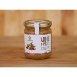 Almond amlou (based on organic argan oil) 190g - les douceurs du maroc