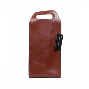 Cow Leather Hand Bag Brown - GC026 - Galerie En Cuir