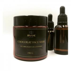 Chocolate face mask 150 g - Jinane Nature