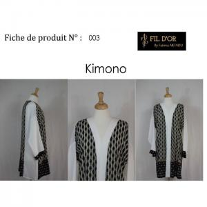Kimono - 3 - fil d'or