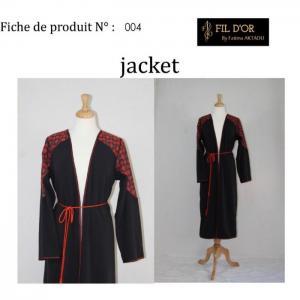 Jacket - 4 - fil d'or