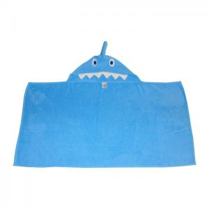 Shark bath towel - home lab
