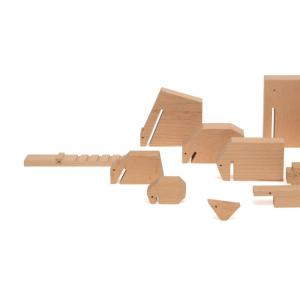 Floris hovers wooden animals blank - ikonic