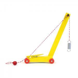 Yellow crane handmade - ikonic