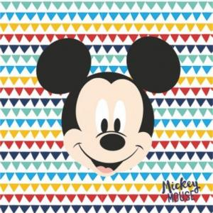 20 Three-Ply Paper Napkins 33X33Cm - Awesome Mickey - WE FIESTA